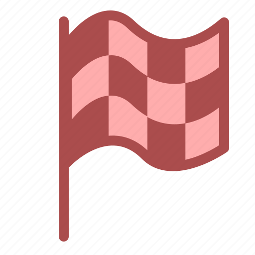 flag, game, play, racing, sports, win icon