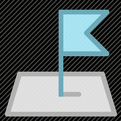 flag, location, map, navigation icon