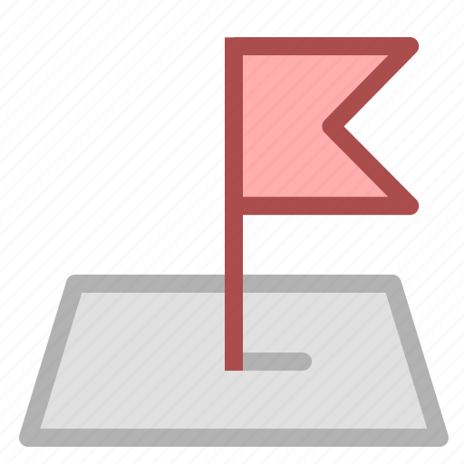 flag, location, navigation icon