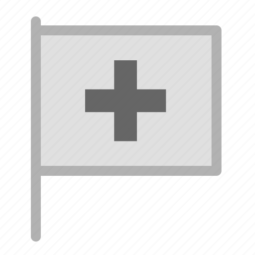 flag, help, label, location, mark, rescue, support, tag icon