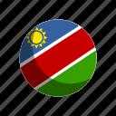 flag, flags, namibia icon