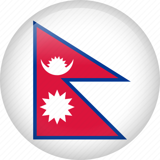 country, flag, nation, nepal icon
