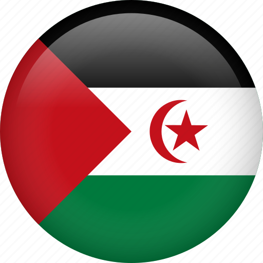 country, flag, nation, western sahara icon