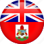 bermuda, country, flag, nation icon