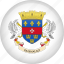 country, flag, nation, saint barthelemy icon