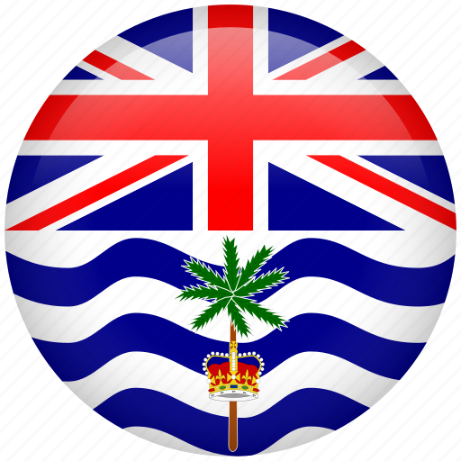 british indian ocean territory, country, flag, nation icon