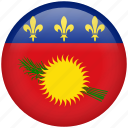 country, flag, guadeloupe, nation