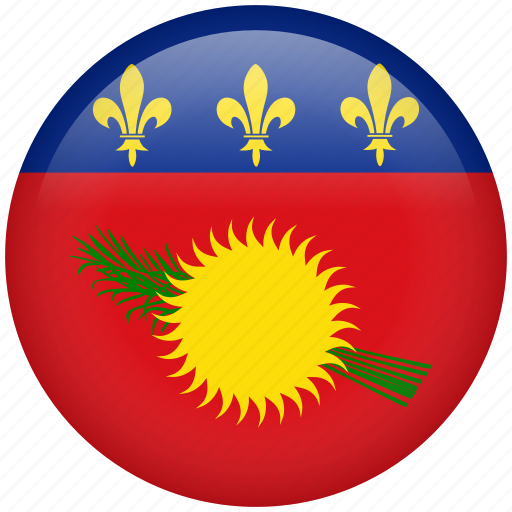 country, flag, guadeloupe, nation icon