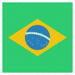 brazil, brazilian, country, flag, national icon