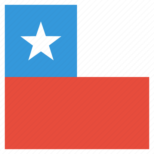 chile, chilean, country, flag, national icon
