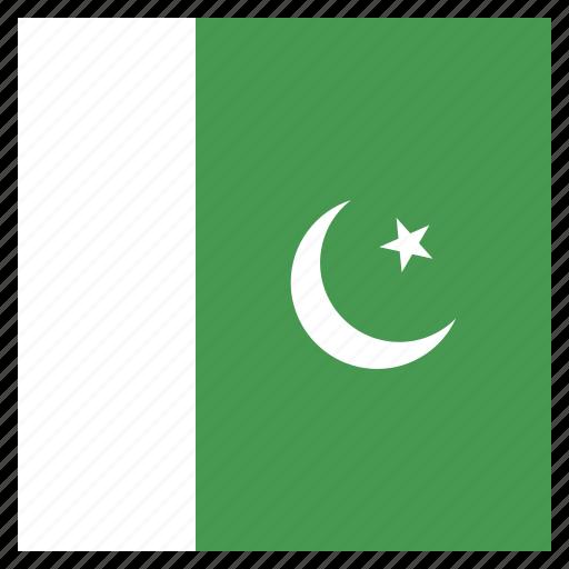 country, flag, national, pakistan, pakistani icon
