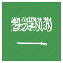 arabia, arabian, country, flag, national, saudi icon
