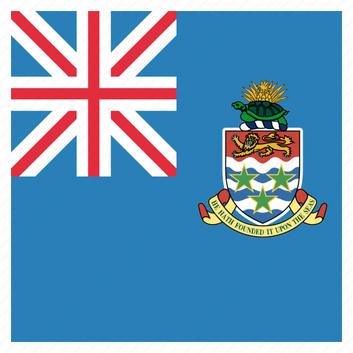cayman, flag, islands icon
