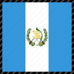 country, flag, guatemala, guatemalan, national icon