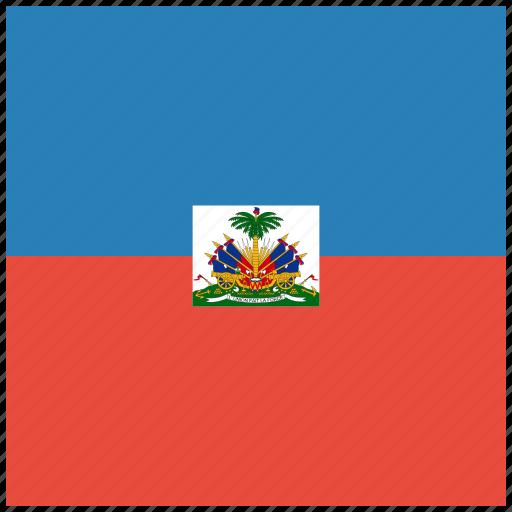 country, flag, haiti, national icon