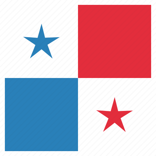 country, flag, national, panama, panamanian icon