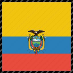 Country Ecuador Flag National Icon Icon Search Engine - Ecuador flags