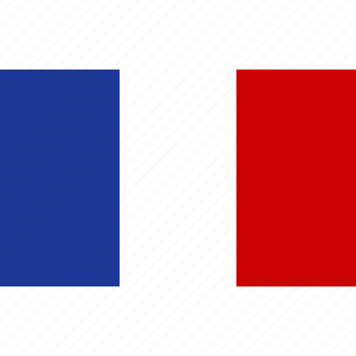 country, flag, france, french, national, republic icon