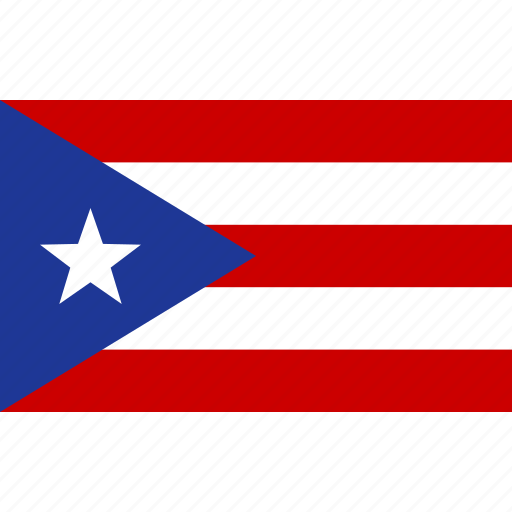 commonwealth, country, flag, national, puerto, rican, rico icon