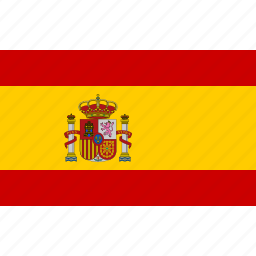 country, espana, flag, national, spain, spanish icon