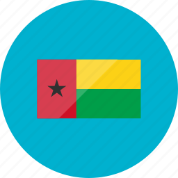bissau, country, flag, flags, guinea, national, world icon