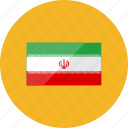 country, flags, iran, location, national, world icon