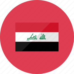 country, flag, flags, iraq, location, national, world icon