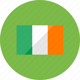 country, flag, flags, ireland, location, national, world icon