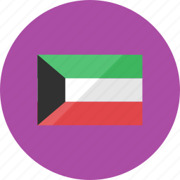 country, flag, flags, kuwait, location, national, world icon