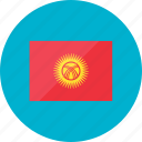 flags, kyrgyzstan, country, flag, location, national, world