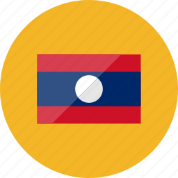 country, flag, flags, laos, location, national, world icon