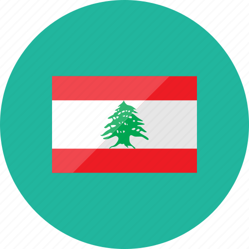 country, flag, flags, lebanon, location, national, world icon