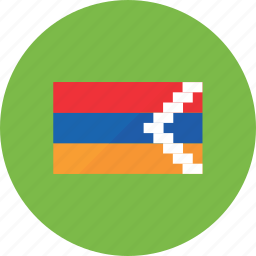 country, earth, flags, karabakh, nagorno, national, world icon