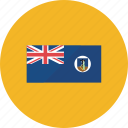 country, flag, flags, montserrat, national, round, world icon