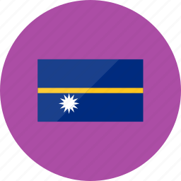 country, flag, flags, location, national, nauru, world icon