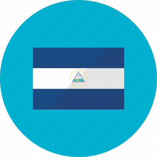 country, flag, flags, location, national, nicaragua, world icon