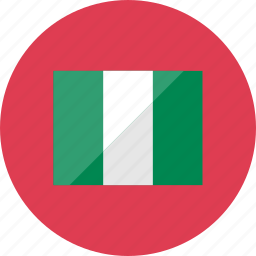 country, flag, flags, location, national, nigeria, world icon