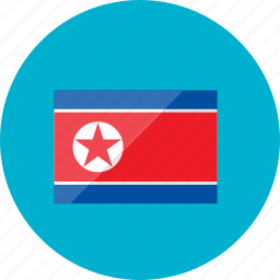 country, flag, flags, location, national, north korea, world icon