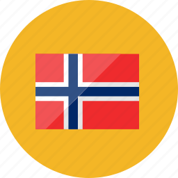 country, flag, flags, location, national, norway, world icon