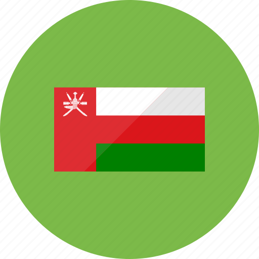 country, flag, flags, map, national, oman, world icon