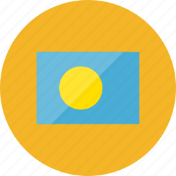 country, flag, flags, location, national, palau, world icon