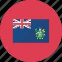 flags, island, pitcairn, country, flag, national, world