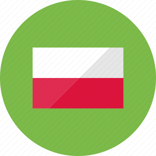 country, flag, flags, location, national, poland, world icon
