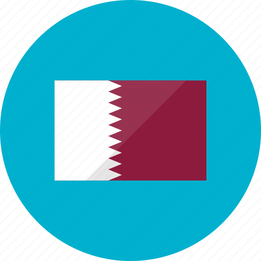 country, flag, flags, location, national, qatar, world icon