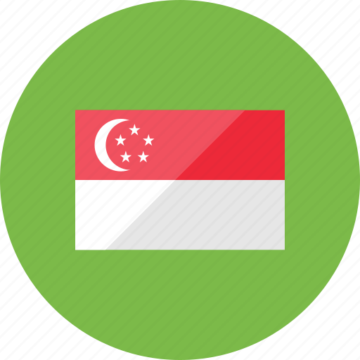 country, flag, flags, location, national, singapore, world icon