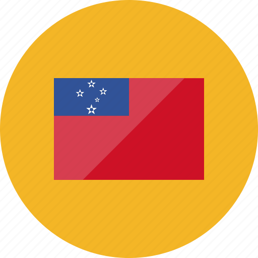 country, flag, flags, location, national, samoa, world icon