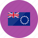 cook island, country, flag, flags, location, national, world icon