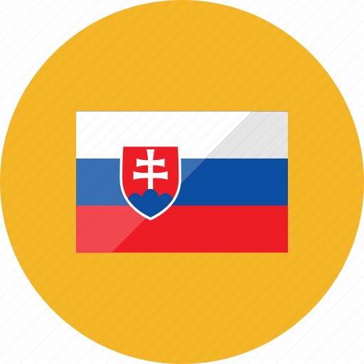 country, flag, flags, location, national, slovakia, world icon