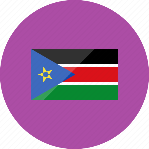 country, flag, flags, location, national, south sudan, world icon