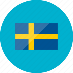 country, flag, flags, location, national, sweden, world icon